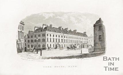 York House, George Street c.1837