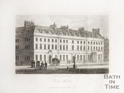 York Hotel, George Street, 1819