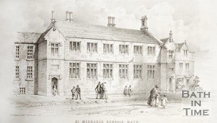 St. Michael's Schools, Bath, c.1841
