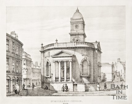 St Michael's Church, Bath, c.1833
