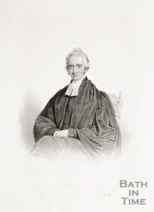 A portrait of the Rev. John East M.A. Rector of St. Michael's Church, Bath, 1852