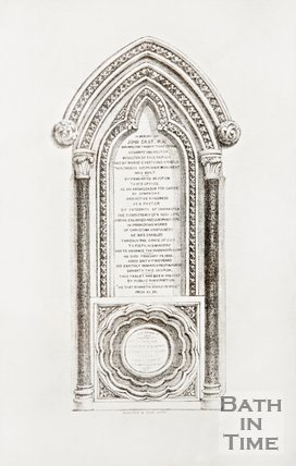 The Memorial to the Rev. John East M.A.