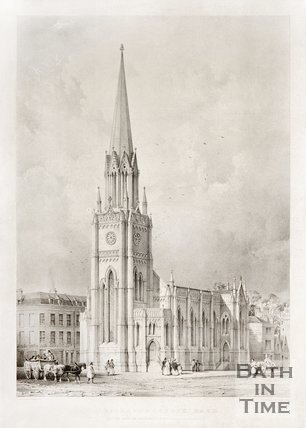 St Michael's Church, Bath c.1837