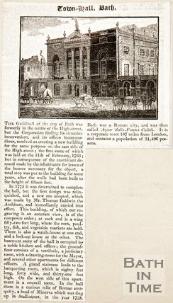 Newspaper article concerning the Guildhall