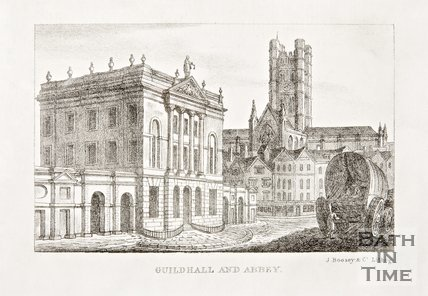 Guildhall and Abbey 1823