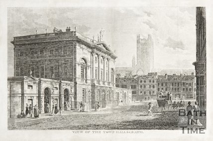 Town Hall (Guildhall) from High Street, possibly drawn in 1792