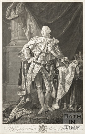 Portrait of George the Third, King of Great Britain,
