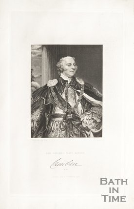 Portrait of John Jeffries Pratt Marquis Lamdeu, 1829