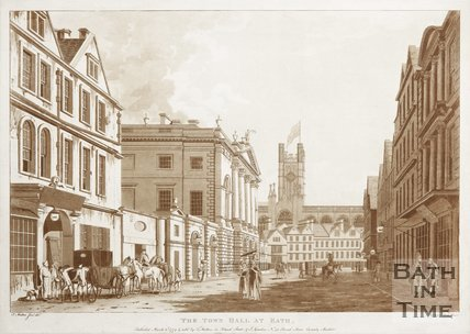 The Town Hall at Bath 1779
