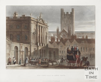 The Town Hall and Abbey 1820