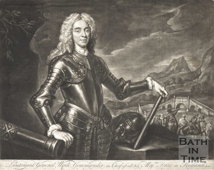 Portrait of Lieutenant General Wade, Commander in Chief of all His Majesties Forces in Scotland, 1736