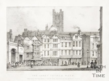 The Abbey Church, Bath, 1838