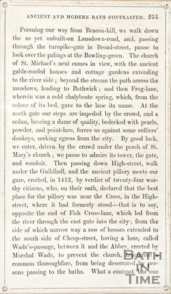 Page 255 from Rambles about Bath and its Neighbourhood, 1847