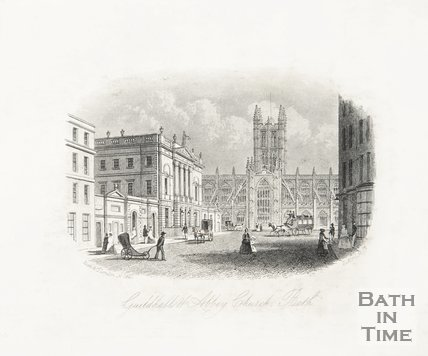 Guildhall & Abbey Church 2 April 1854