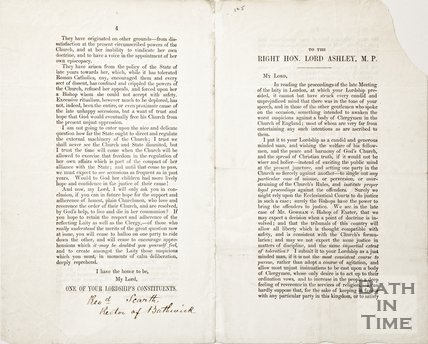 Pamphlet concerning the alliance between the state and the church