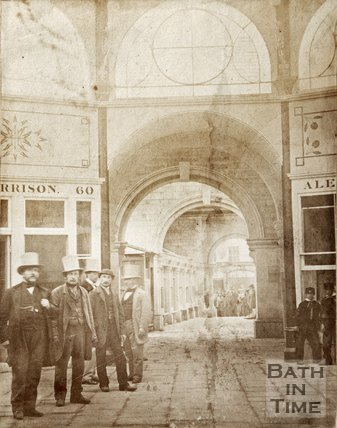 Early photograph of Bath New Markets