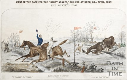 Review of the race for the Derby Stakes' run at Bath, 1859