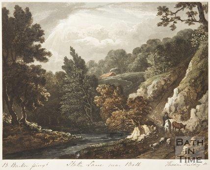 Stoke Lane near Bath