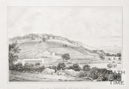 A View from Warminster New Road near Bath c.1837
