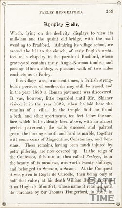 Page 259 from Rambles about Bath and its Neighbourhood, 1847