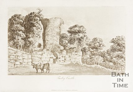 Farleigh Hungerford Castle, 1702