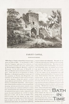 Article on Farleigh Hungerford Castle