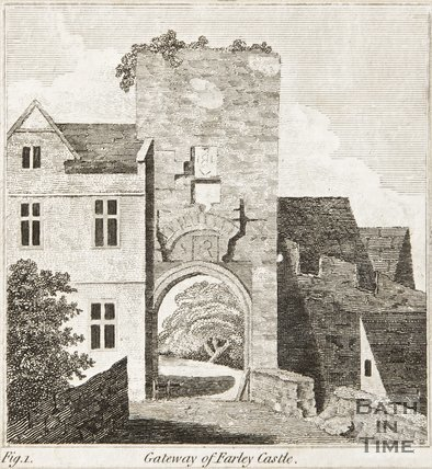 The gateway of Farleigh Hungerford Castle