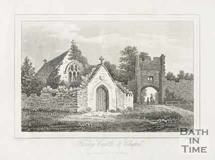 Farleigh Hungerford Castle and Chapel, 1823