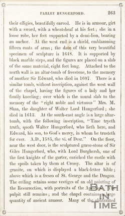 Page 263 from Rambles about Bath and its Neighbourhood, 1847