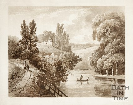 Freshford on the Kennet and Avon canal near Bath