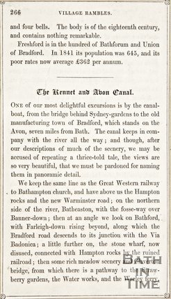 Page 266 from Rambles about Bath and its Neighbourhood, 1847
