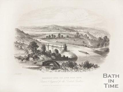 Aqueduct over the Avon, near Bath c.1820