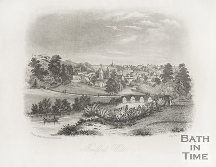 View of Bradford Avon, Wilts c.1850
