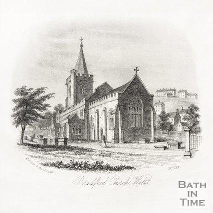 Bradford on Avon Church Wilts