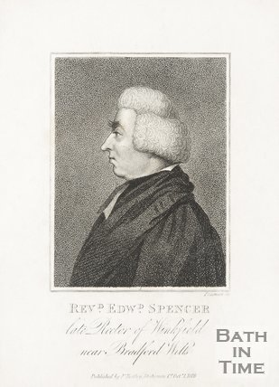 Portrait of Reverend Edward Spencer the late Rector of Winfield near Bradford on Avon, 1819