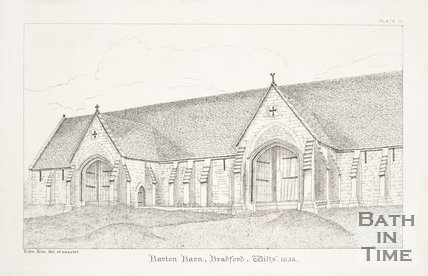 Barton Barn Bradford on Avon Wilts, 1858