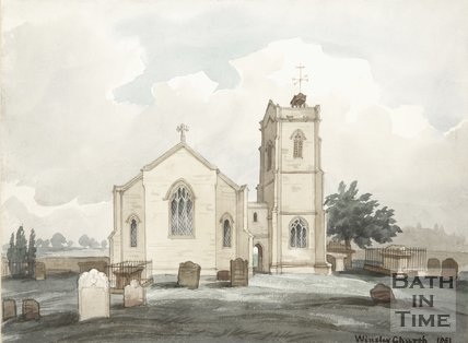 Winsley Church, 1851
