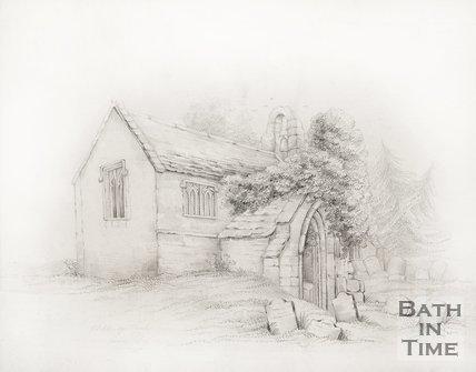 Ditteridge Church near Box