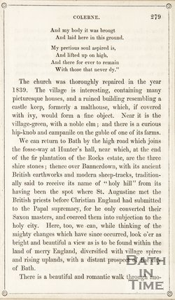 Page 279 from Rambles about Bath and its Neighbourhood, 1847