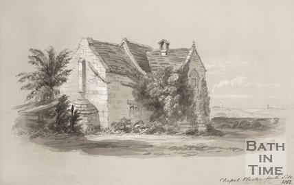 Chapel Plaister North Side, 1852
