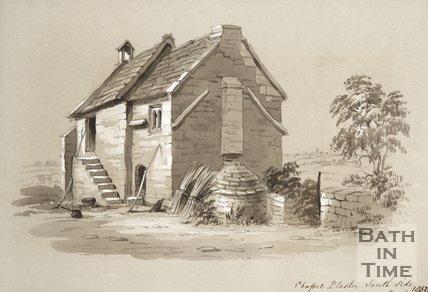 Chapel Plaister South Side, 1852