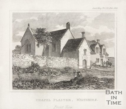 Chapel Plaister Wiltshire, Front View, 1835