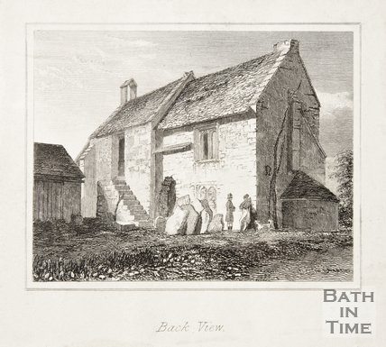 Chapel Plaister Wiltshire, Back View, 1835