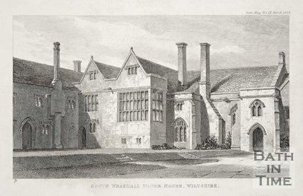 South Wraxall Manor House, Wiltshire, 1838