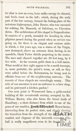 Page 281 from Rambles about Bath and its Neighbourhood, 1847