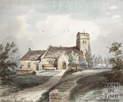Monkton Farleigh Hungerford Church 1850