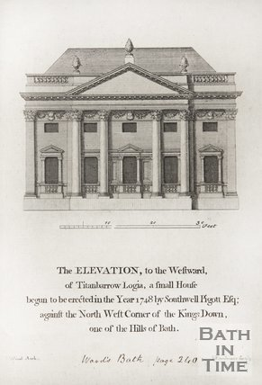 The elevation of Titanbarrow Logia Bathford