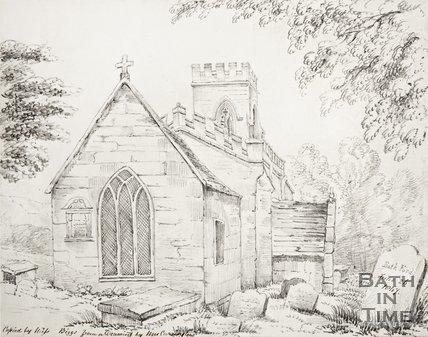 Bathford Church, 1847