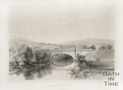 Bathford Bridge, c.1840