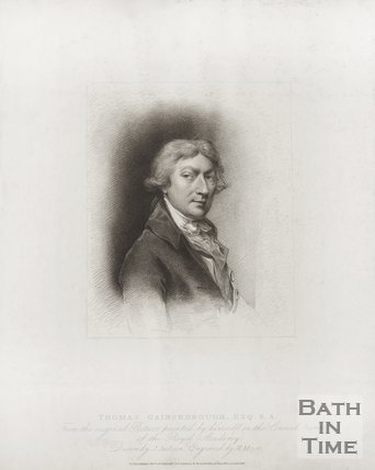 Portrait of Thomas Gainsborough Esq R. A.